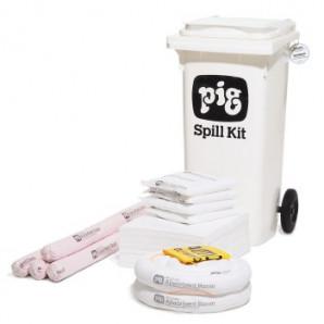 PIG® Oil-Only Fahrbares Notfall-Kit Groß
