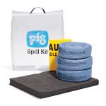 PIG® Notfall-Kit in durchsichtigem Beutel