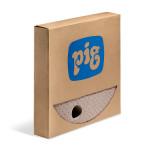 PIG® Braune Oil-Only 210 L Fassdeckelmatte